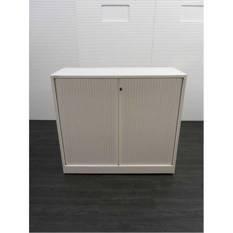 Roldeurkasten ahrend roldeurkast h105xb120xd45cm for Witte kunstof eetkamerstoelen