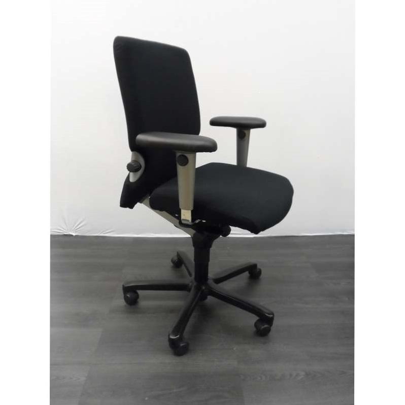Bureaustoel Met Lendesteun.Bureaustoelen Comforto 7700 Bureaustoel Zwarte Stof Synchroon